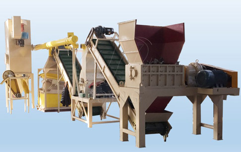Copper Aluminum Radiator Recycling Machine