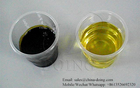 Can used motor oil be cleaned and reused by waste oil distillation plant?