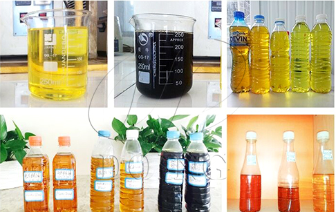 What is plastic pyrolysis oil uses?