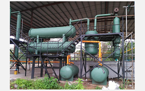 How much does waste tyre pyrolysis plant cost?