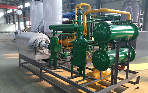 100-500 kg/day small scale waste plastic pyrolysis plant