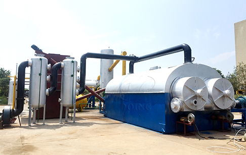 Is there fully automatic tyre pyrolysis plant? How does it work?