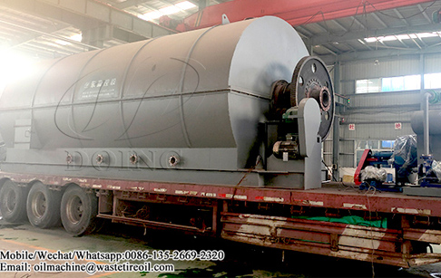 10TPD waste plastic to oil pyrolysis plant and 5TPD used oil refinery plant have sent to Nigeria