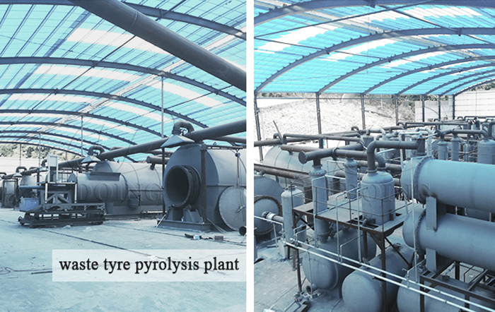 waste tyre to fuel plant