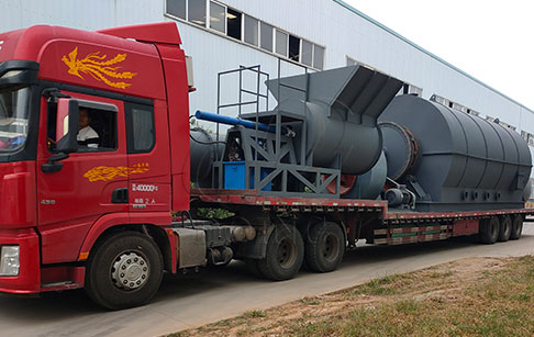6 sets 12TPD waste tyre to oil plant ordered by the customer in Yunnan, China have been shipped